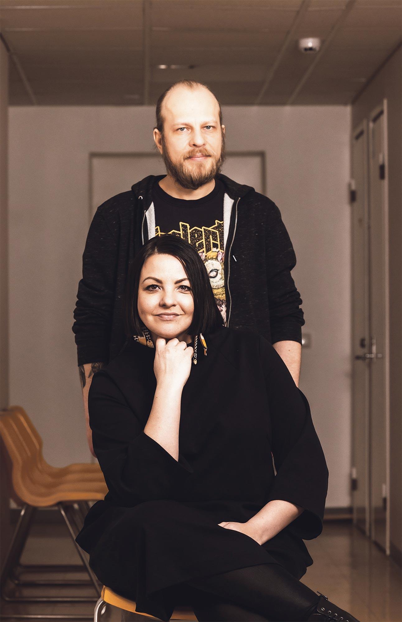 G-moodi eli Kati Alasaari ja Jusa Kaivo-oja