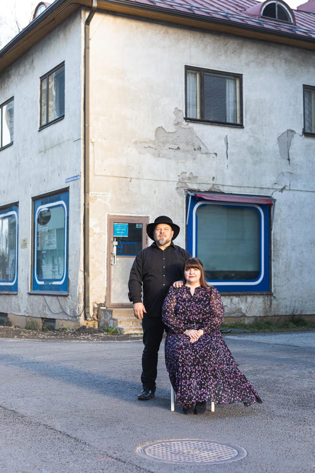 Duo Ohoiva eli Tero Heinämäki ja Jenni Lalli