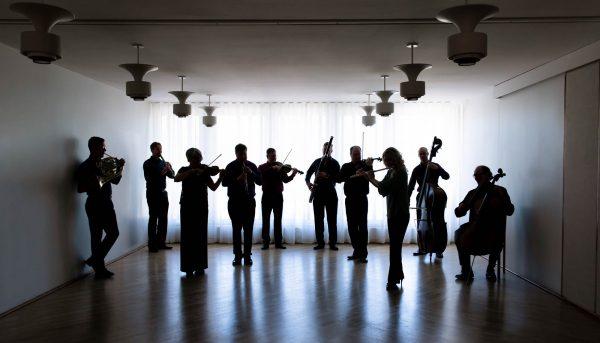 Seinäjoen kaupunginorkesterin soittajistoa