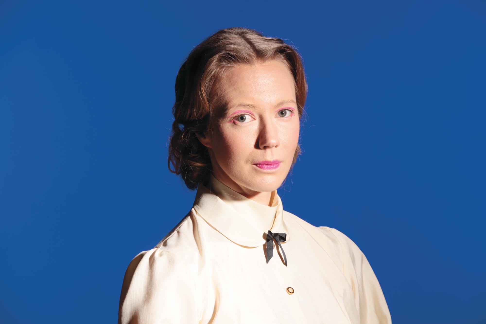 Heidi Ajanto on Seinäjoen kaupunginteatterin Minna Canth.